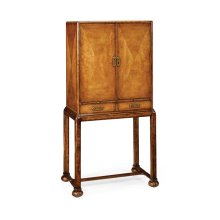 Satinwood Drinks Cabinet