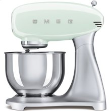 Smeg 50s Retro Style Design Aesthetic Stand Mixer, Pastel Green