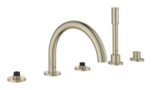 Atrio Five-Hole Bathtub Faucet with Handshower Product Image