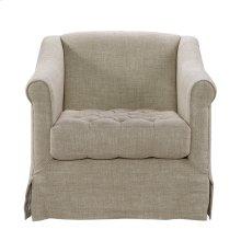 Brussels Linen Arm Chair