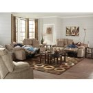 Power Lay Flat Reclining Console Loveseat w/Extended Ottoman Product Image