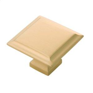 1-1/2 In. Studio II Knob - Satin Brass Product Image