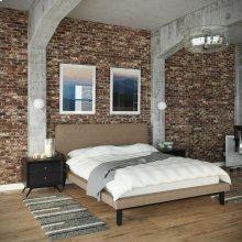 Bethany 3 Piece Queen Bedroom Set in Black Latte