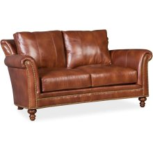 Bradington Young Richardson Stationary Loveseat 8-Way Tie 866-75