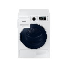 4.0 cu. ft. Heat Pump Dryer with Smart Care in White