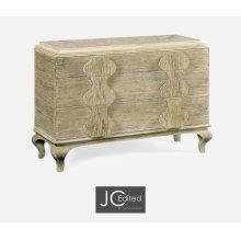Limed Acacia Chest of Drawers