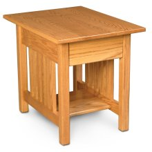 Mission 1-Drawer End Table