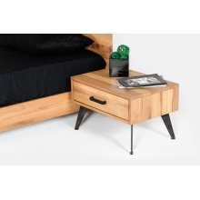 Nova Domus Alan Modern Drift Oak Nightstand