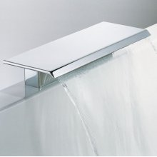 Rim Mounted Waterfall Bath Spout 400 Mm