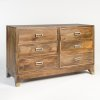 Everette Six Drawer Dresser