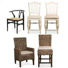 Mix-n-match Chairs - Woven Counter Stool - Hazelnut Finish Product Image