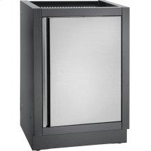 OASIS Cabinet with Reversible Door , Grey