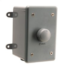 Weatherproof Stereo Volume Control with Selectable Impedance Magnification