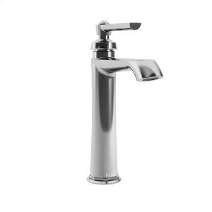 Tall single hole bathroom sink faucet - Chrome Product Image