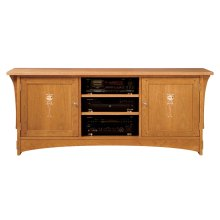 "Oak 68"" Harvey Ellis TV Console"