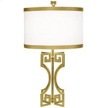 Phila Table Lamp-gold Leaf