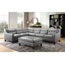6640 Malibu Raf Loveseat 177027 Grey Product Image
