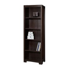 Mocha Narrow Bookcase