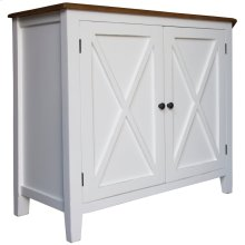 Buffet, Available in Hampton White or Hampton Grey Finish.