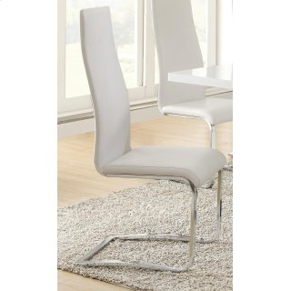 Crisp Dining Chair White