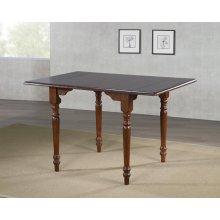 DLU-ADW3448-CT  Drop Leaf Dining Table  Chestnut