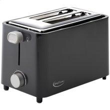 2-Slice Toaster (Black)