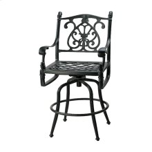 Florence Cushion Swivel Balcony Stool