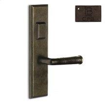 Right Mortise Escutcheon Entry - Copper Bronze