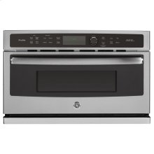GE Profile™ 30 in. Single Wall Oven with Advantium® Technology.  (This is a Stock Photo, actual unit (s) appearance may contain cosmetic blemishes. Please call store if you would like actual pictures). This unit carries A ONE YEAR MANUFACTURER WARRANTY. REBATE NOT VALID with this item. ISI 34157