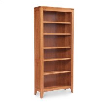 Justine Open Bookcase, 5-Adjustable Shelves