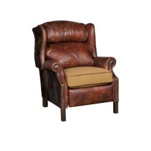 George Leather Fabric Recliner