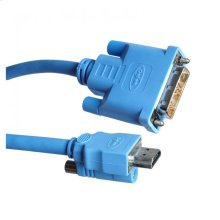 DVI-to-HDMI Locking Cable (M-M) - 15 feet