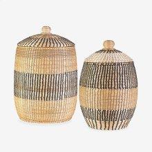 Lombok Striped Basket - Set of 2