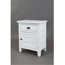 Artisan's Craft Accent Table - Weathered White