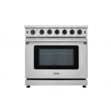 Thor Kitchen - 36 Inch Professional Gas Range In Stainless Steel