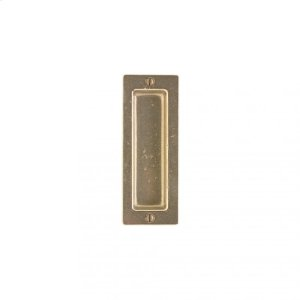 Rectangular Flush Pull - FP206 Silicon Bronze Brushed Product Image