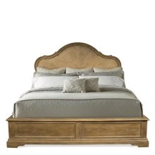 Verona Queen Footboard Light Sienna finish