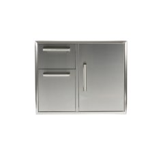 "31"" Combination Storage: Door and Drawers Cabinet"