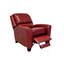 Push Back Recliner in Phoenix-Red