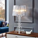 French Grande Table Lamp in Clear Product Image
