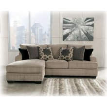 Katisha Platinum Chaise Sofa