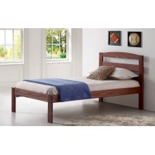 Kingston Platform Bed Chestnut