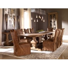 Delroy Armless Chairs, Cognac, 2 Per Box