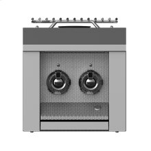 "Double Side Burner, Built-in, 12"" -lp"