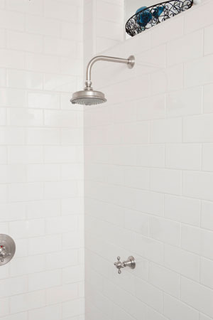 Additional Uncoated-Polished-Brass-Living Single Function Shower Head