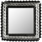 Square Tube Mirror - Black Powder Coated Product Image