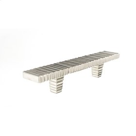 Satin Nickel Forged 3 Flat Bar Pull 3 Inch (c-c)