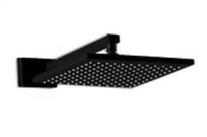 "10"" Shower Rainhead Wall Mount - Black Product Image"