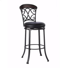 "Trevelian 26"" Swivel Counter Stool"