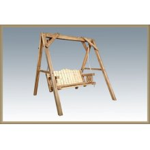 Homestead Lawn Swing - Exterior Finish